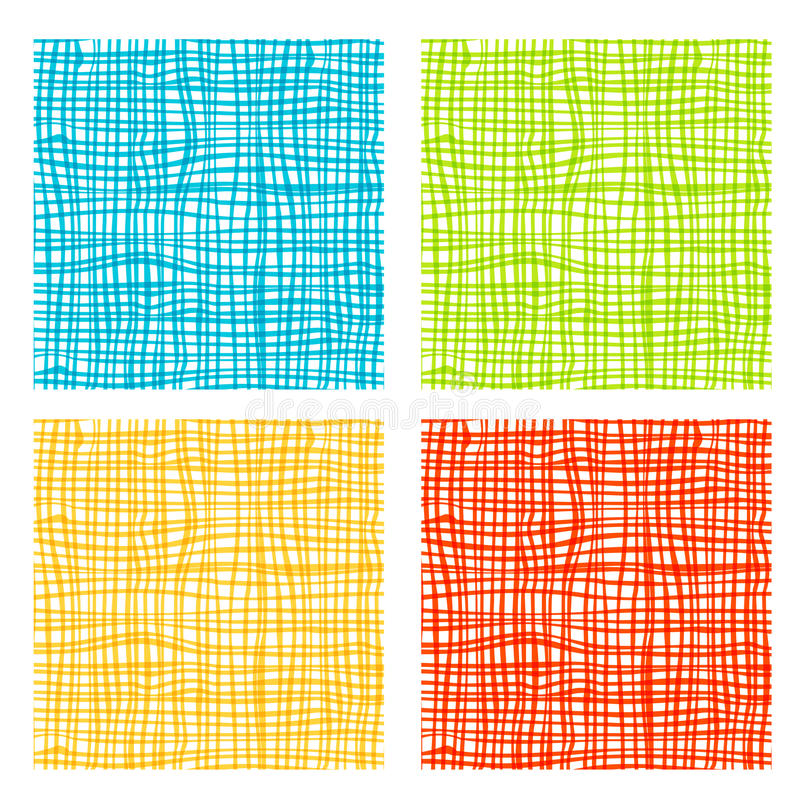 Fabric background for your design royalty free illustration