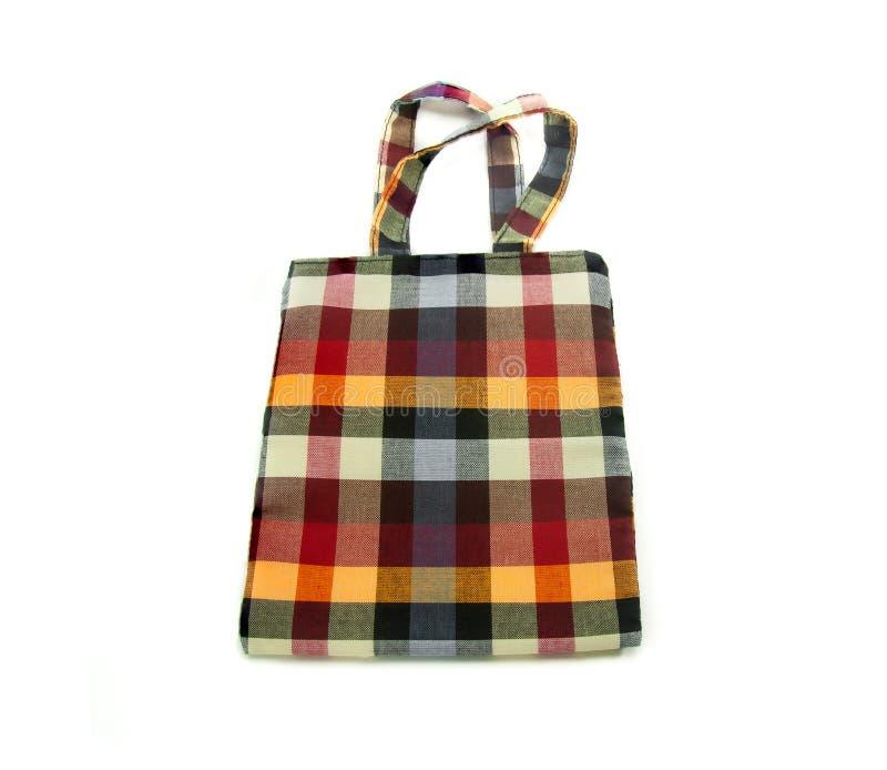 Fabric bag royalty free stock photo