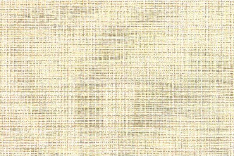 Fabric coarse weaving yellow stock photos