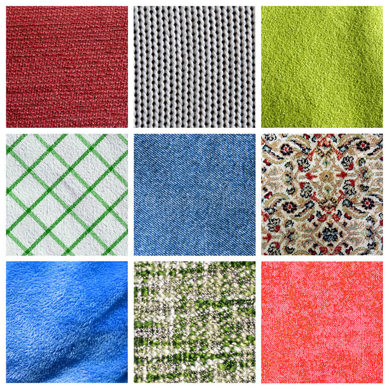 Download Fabric collage stock illustration. Image of selection - 15097937