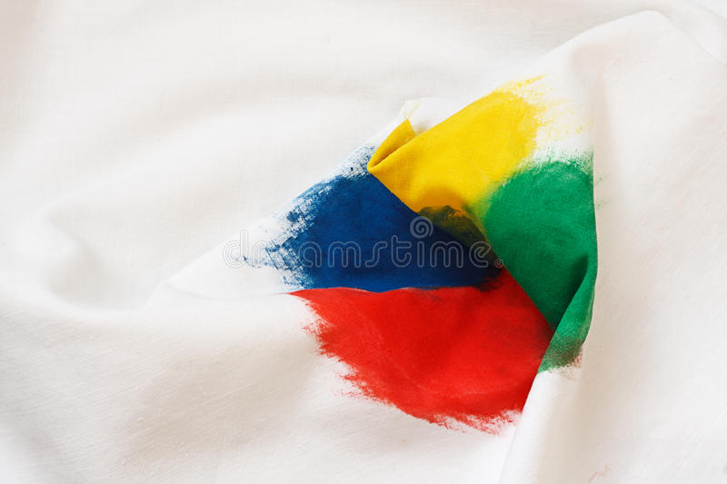 Download Fabric With A Color Spot Royalty Free Stock Photo - Image: 24758015