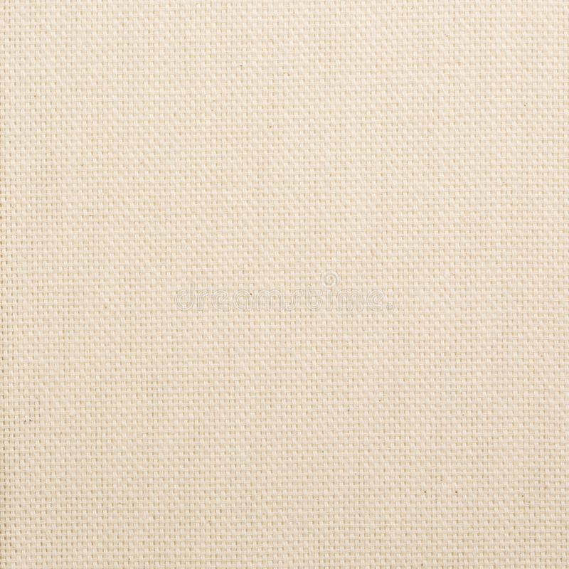 Fabric for decoration and printing. Cotton fabric in light yellow color royalty free stock photography