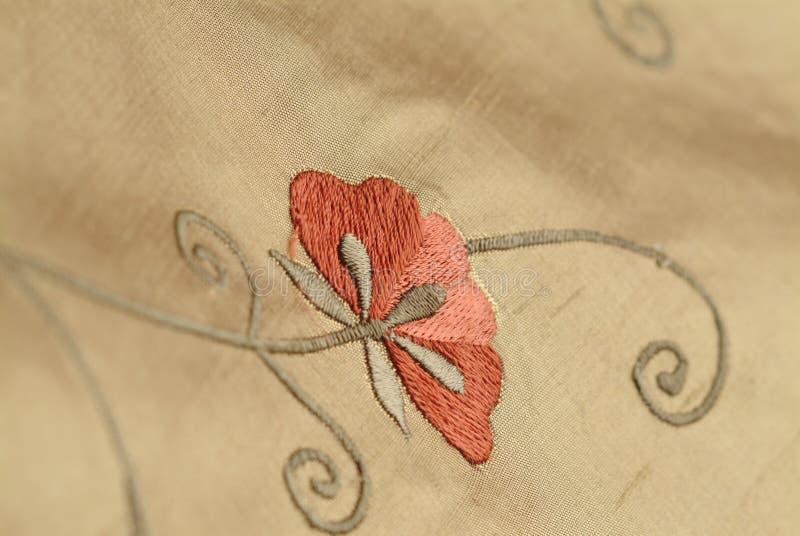 Fabric Flower stock image