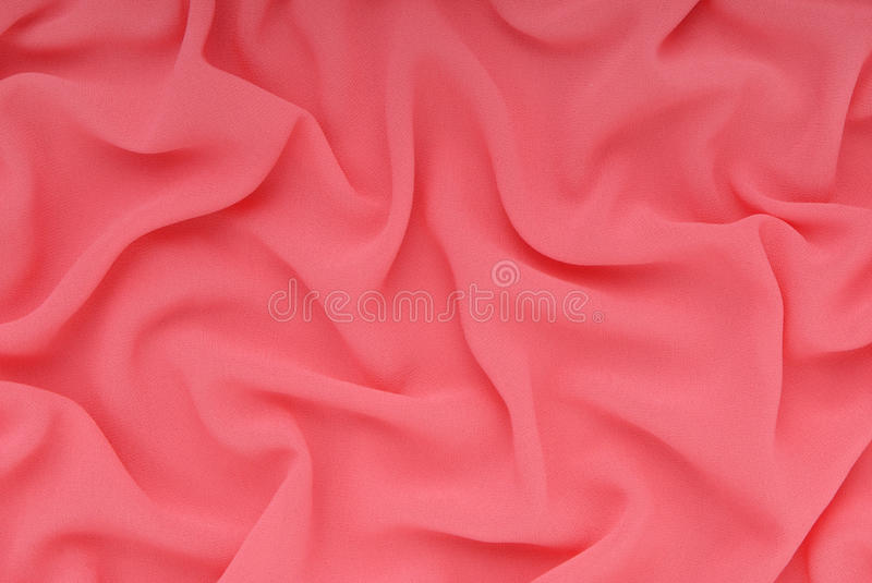 Fabric has colour fuchsia, textured backgrounds stock photo