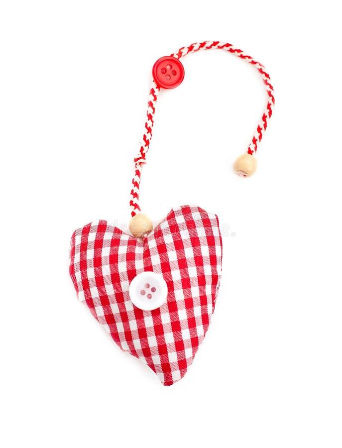 Fabric Heart Royalty Free Stock Photography