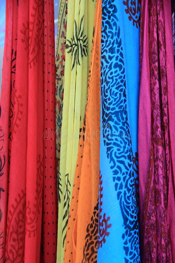 Fabric From Ladakh. stock image