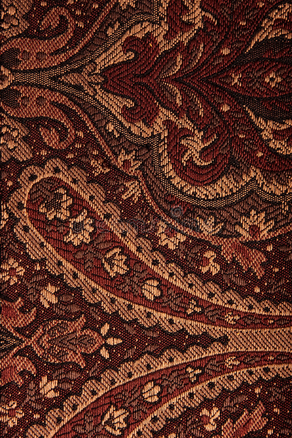 Fabric Pattern. Complex fabric pattern close-up royalty free stock photos