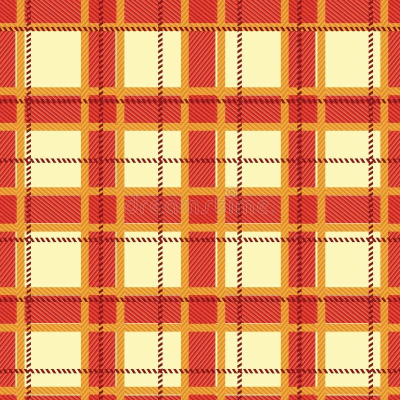 Fabric pattern stock illustration