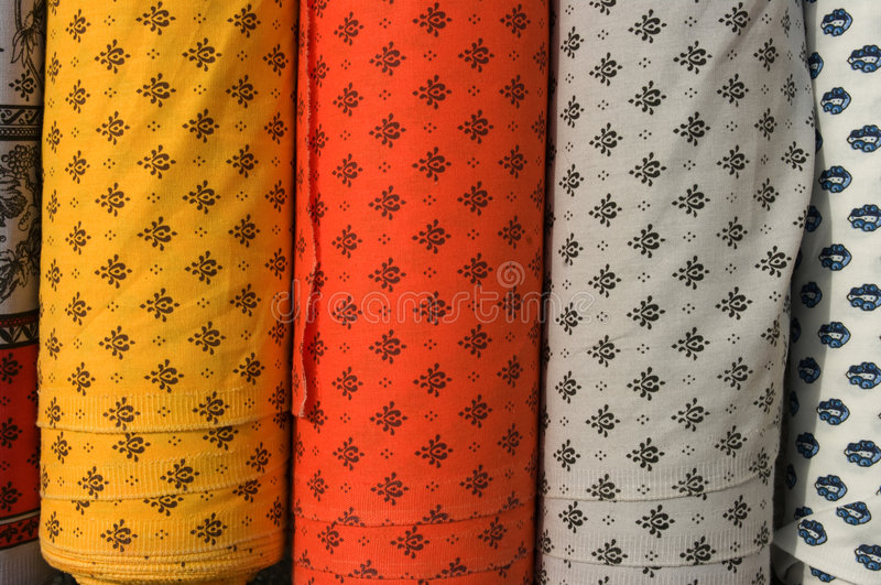 Fabric roll vertical royalty free stock photos