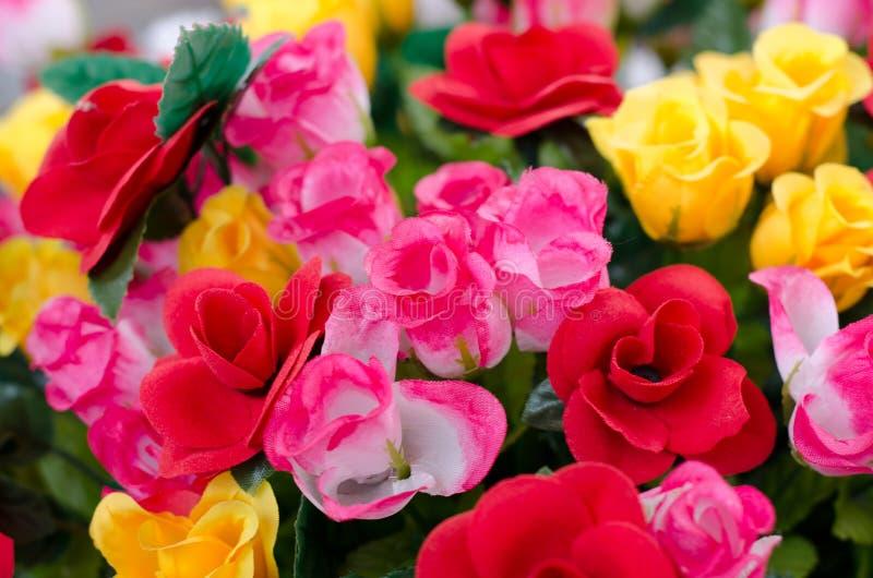Fabric Roses Royalty Free Stock Photo
