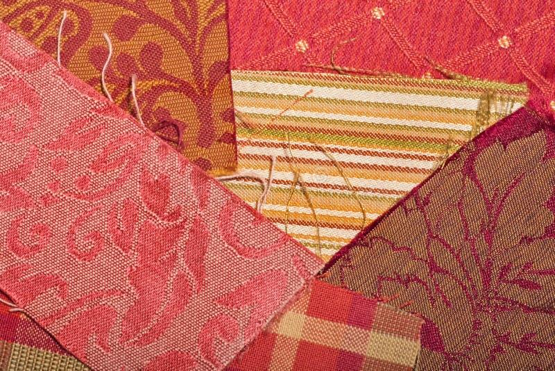 Fabric Samples Royalty Free Stock Photo