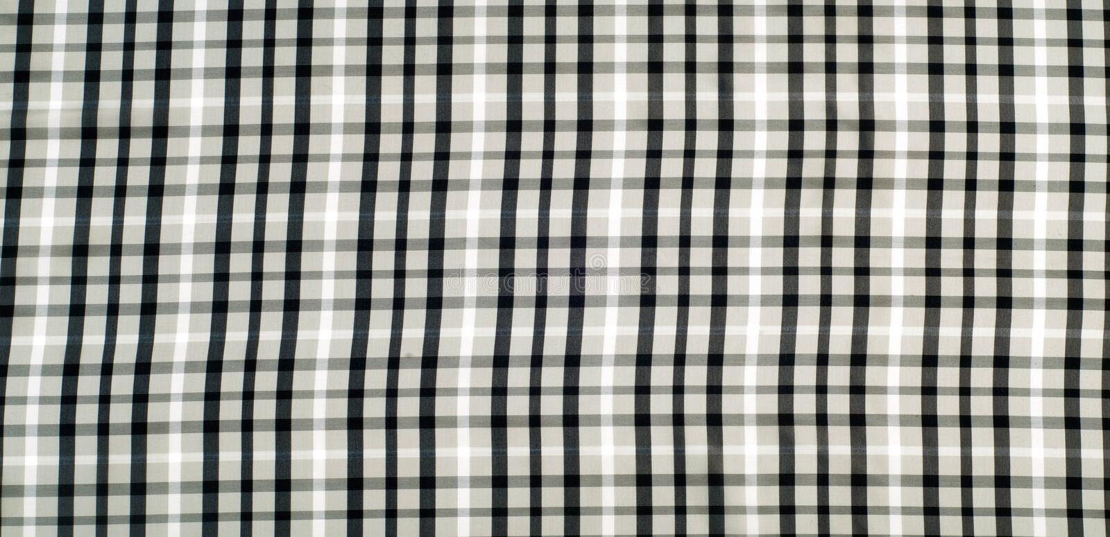 The fabric in the Scottish style. Warm plaid stock images