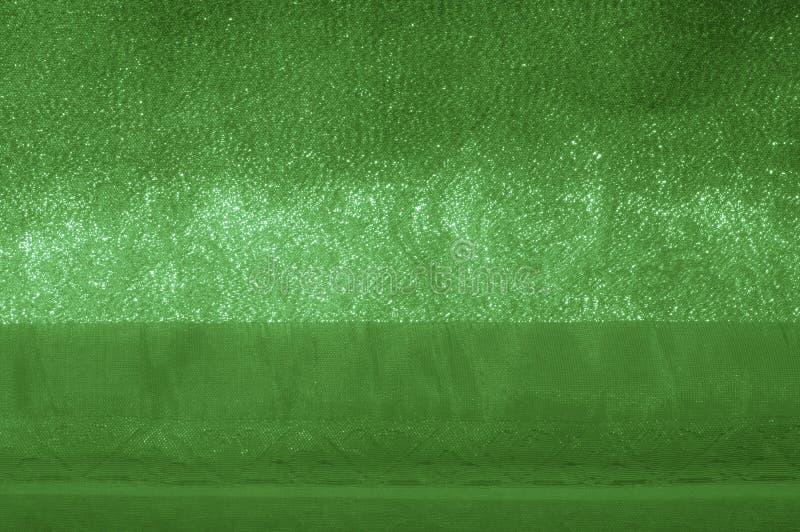 Fabric - silk light. Pale green fa royalty free stock photos
