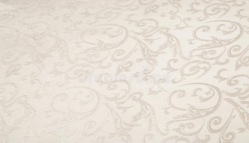Fabric silk texture, creamy, pale beige. Fabric silk texture, cream, cream-colored, cream-coloured, pale beige. a fine, strong, soft, lustrous fiber produced by stock illustration