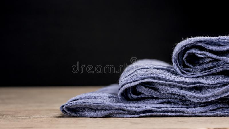 Fabric stack royalty free stock photos