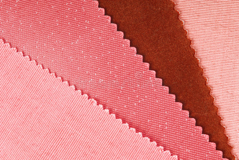 Fabric swatches. Choice for home interior stock images
