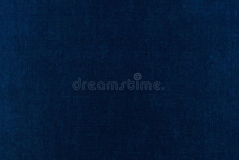 Fabric texture background blue stock photos