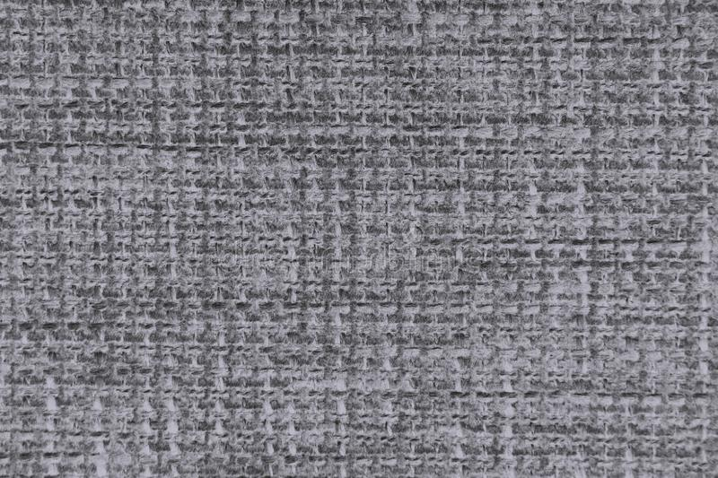 Fabric texture of burlap in neutral colors close up royalty free stock photos