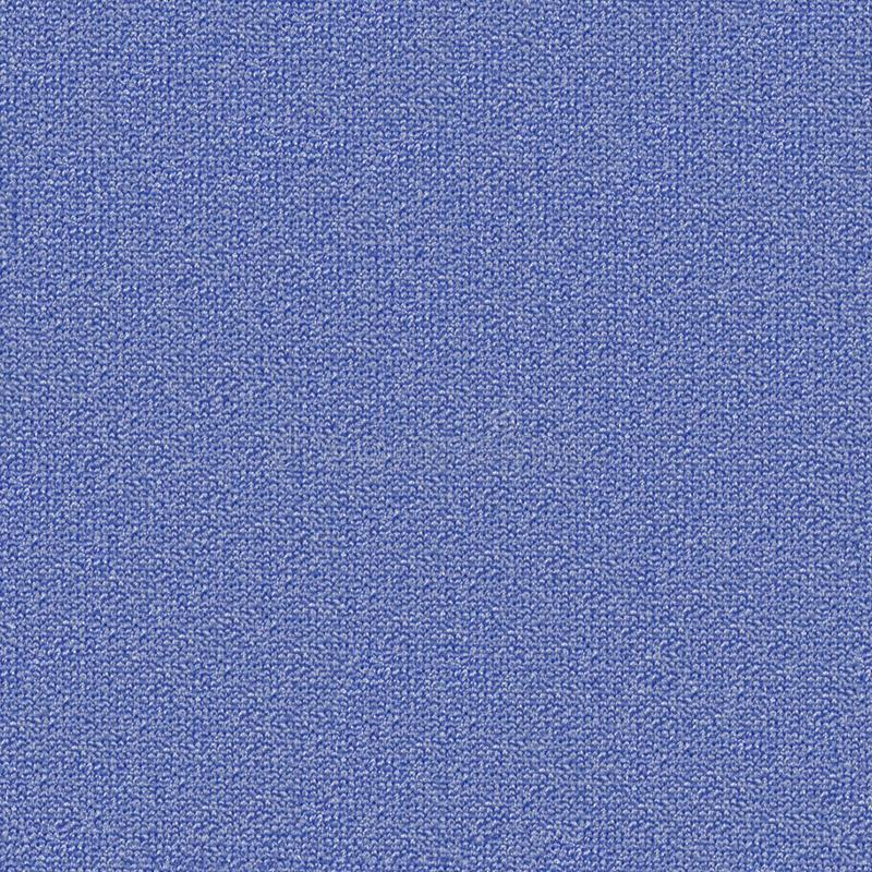 Fabric texture 6 diffuse seamless map. Blue fabric. stock photography