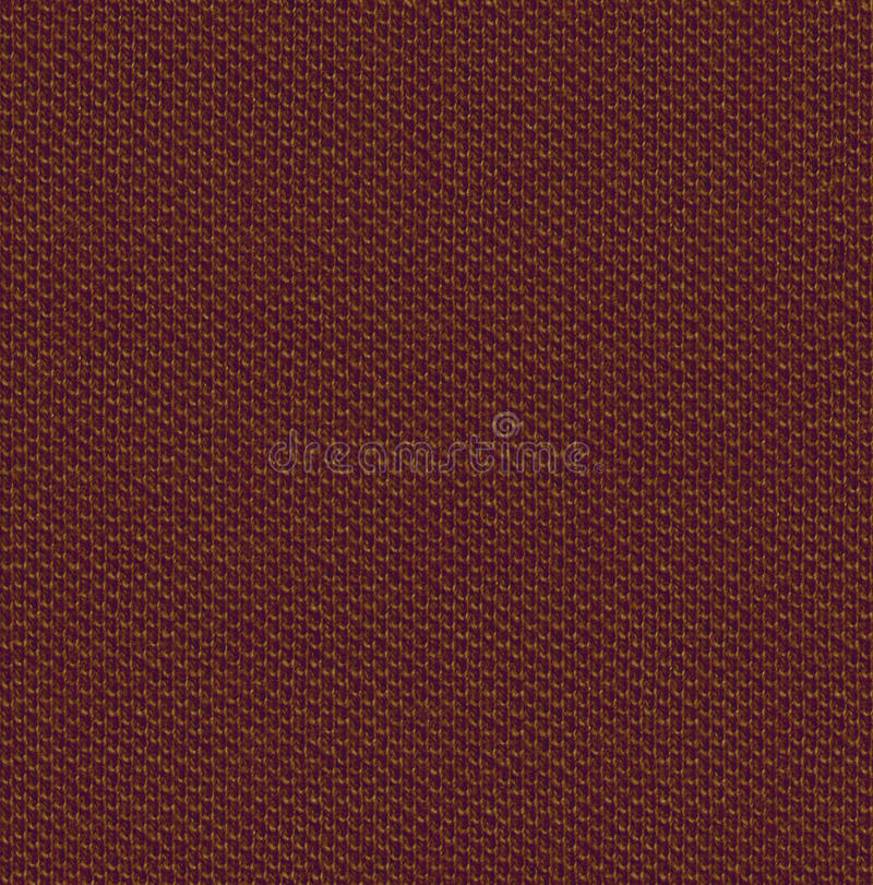 Fabric texture 3 diffuse seamless map. Brown. royalty free stock photos