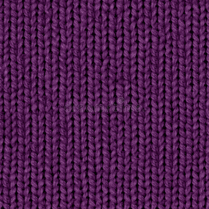 Fabric texture 7 diffuse seamless map. Dark violet. Texture map for 3d programms. Diffuse map. Dark violet fabric. Knitting royalty free stock photography
