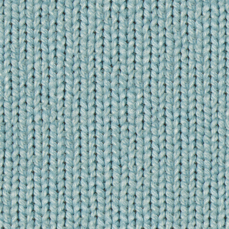 Fabric texture 7 diffuse seamless map. Light turquoise. Texture map for 3d programms. Diffuse map. Light turquoise fabric. Knitting stock image