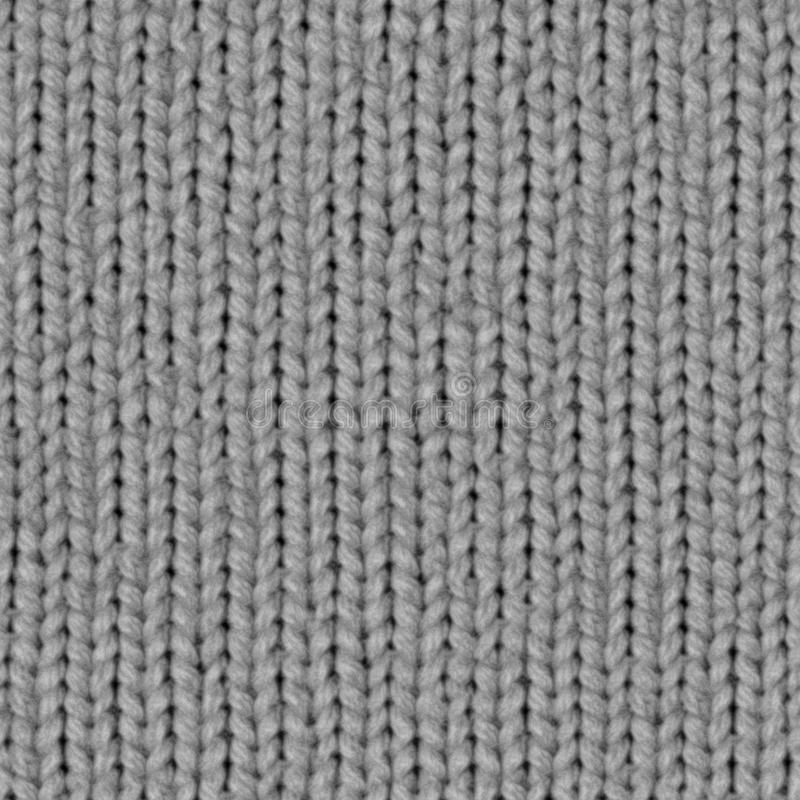 Fabric texture 7 displacement seamless map. Knitting royalty free stock image