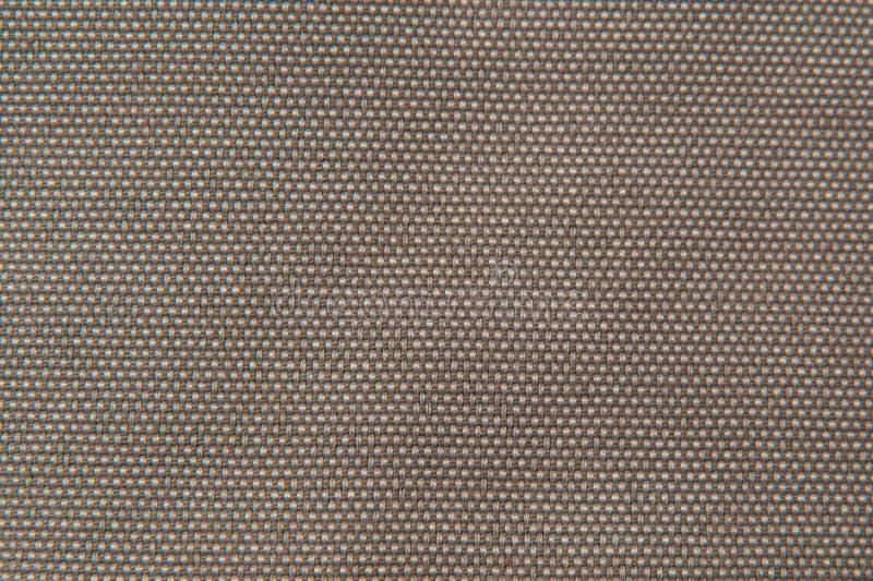 Fabric texture light brown gobelin stock image