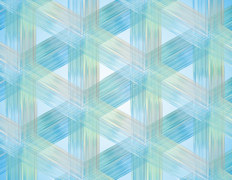 Fabric Texture. Weave Colorful Threads Stock Images