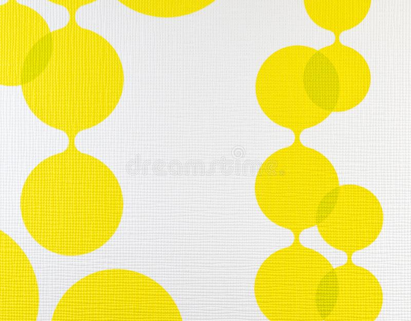 Download Fabric Texture Yellow And White Background Cloth Pattern Stock Image