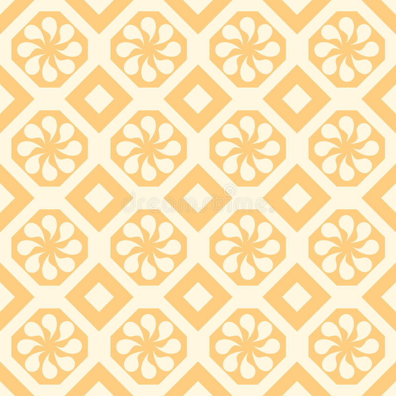 Fabric Tile Wallpaper Texture Kitchen Stock Illustration