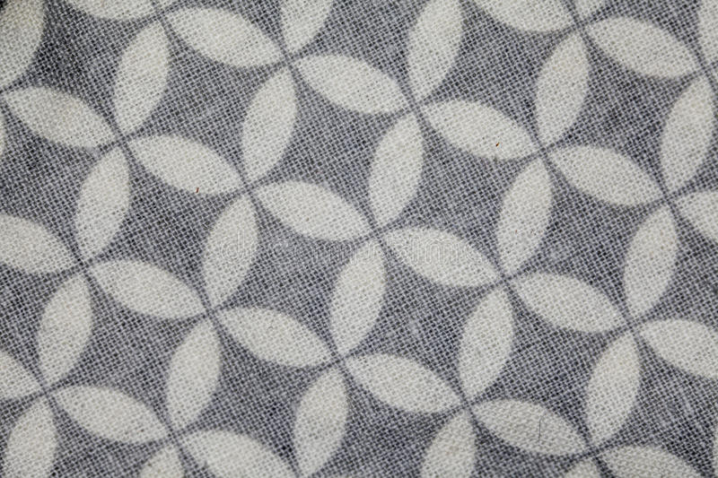 Fabric with wheels stock photo