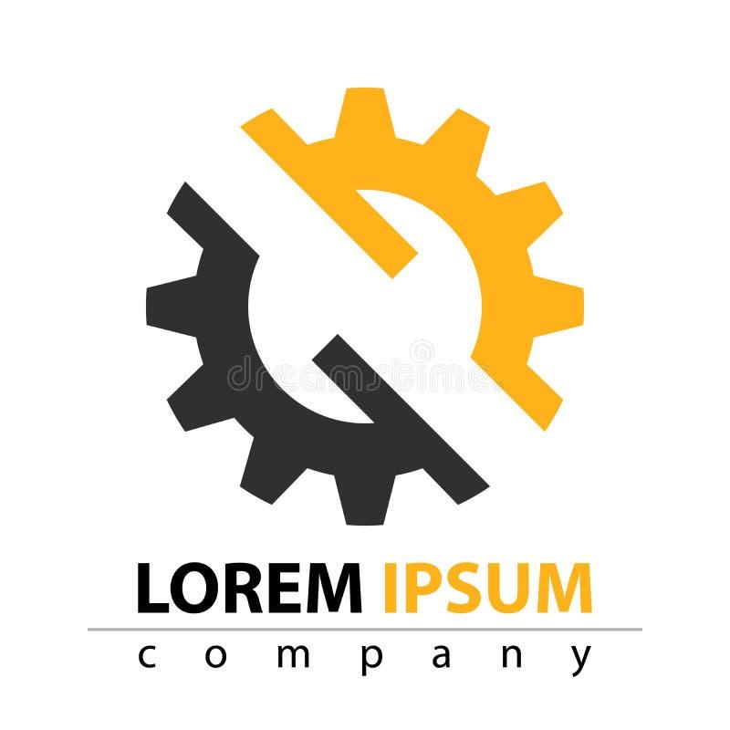 Fabricación, construcción, fábrica, manufactura - icono plano libre illustration