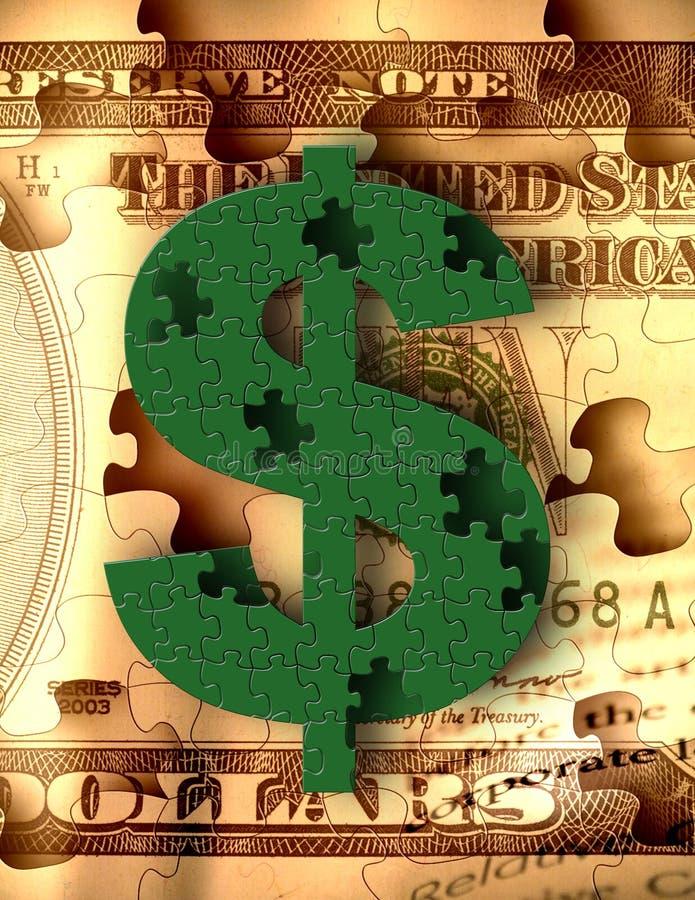 Fabricación corporativa del dinero stock de ilustración