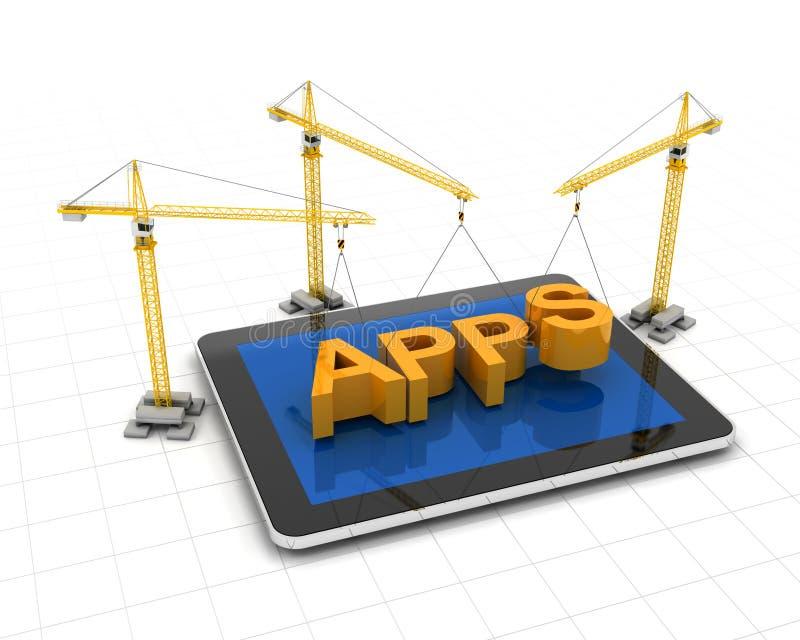Fabricación de apps libre illustration
