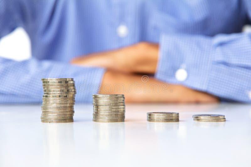 Fabricación de concepto del dinero imagenes de archivo