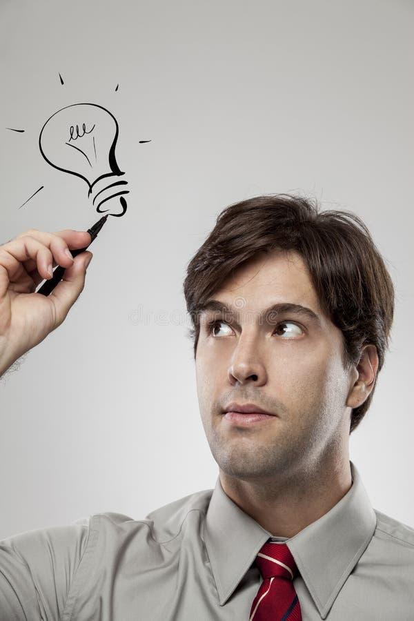 Fabricación de un ideia. fotografía de archivo libre de regalías