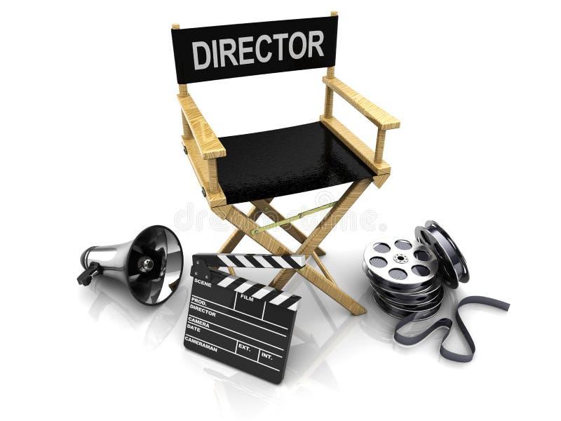 Fabricación del cine stock de ilustración