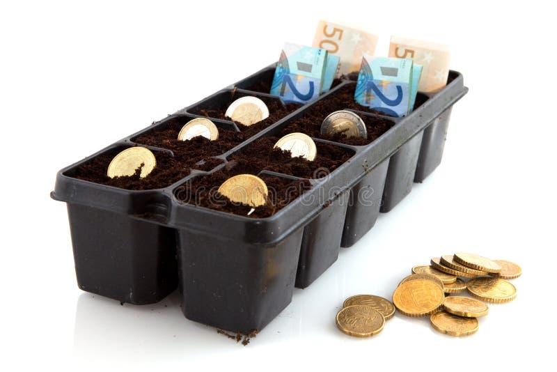 Fabricación del dinero fotografía de archivo libre de regalías