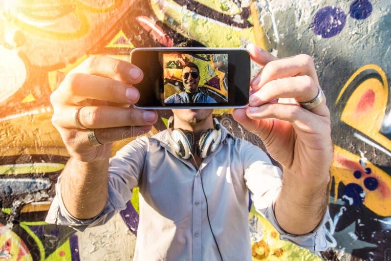 Fabricación del selfie fotografía de archivo