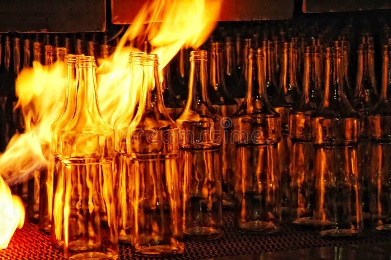 Fabricación del vidrio (3) imagenes de archivo
