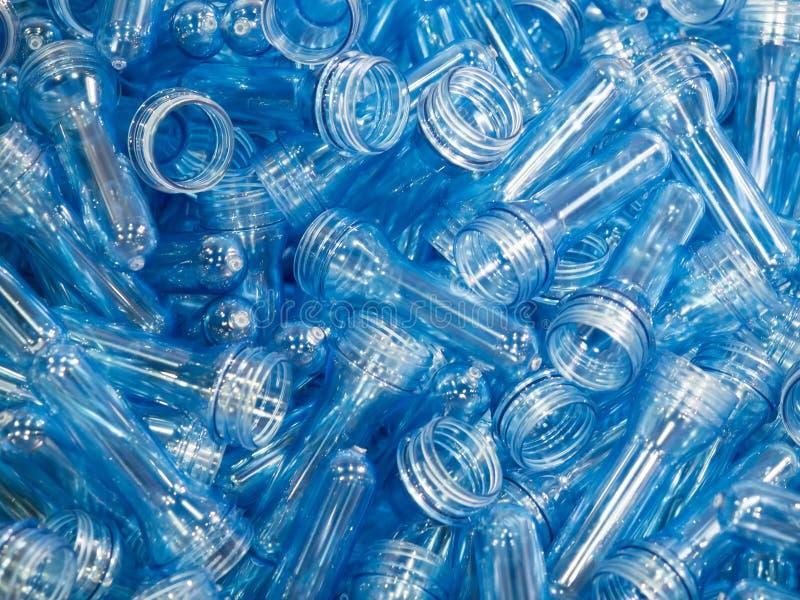 Fabricación plástica de alta tecnología de la botella industrial fotografía de archivo