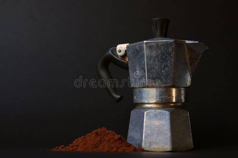 Fabricant de café italien I images libres de droits