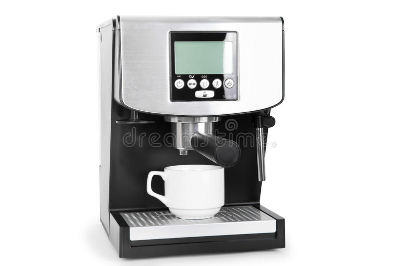 Fabricant de Coffe photographie stock