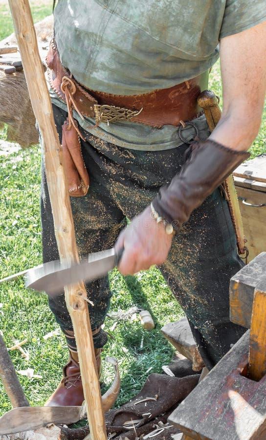Fabricant des arcs antiques images stock