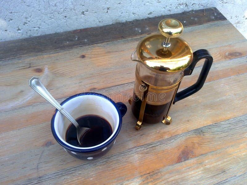 Fabricante de café fotografia de stock
