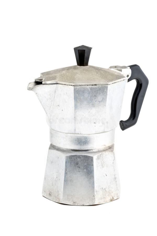 Fabricante de café de Stovetop imagens de stock