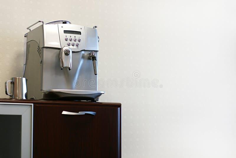 Fabricante de café moderno imagen de archivo libre de regalías