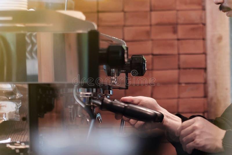Fabricante de caf? imagen de archivo