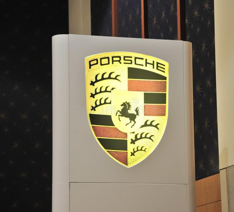Fabricante de Porsche de carros de esportes foto de stock